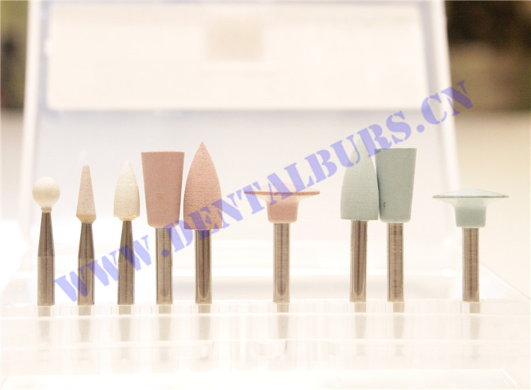 Rubber Polishers & Silicone Polishers for Dental Clinic Series 1